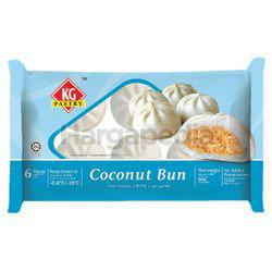KG Pastry Coconut Bun 6x60gm