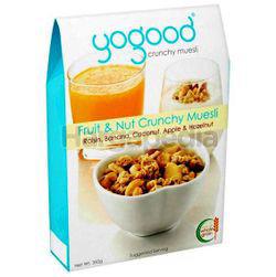 Yogood Fruit & Nut Crunchy Muesli 350gm
