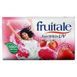 Fruitale Bar Soap Strawberry 3x80gm