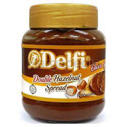 Delfi Double Hazelnut Choc Spread 350gm