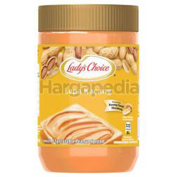 Lady's Choice Smooth & Spreadable Peanut Butter 500gm