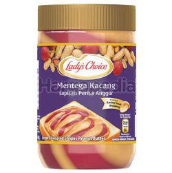 Lady's Choice Grape Flavoured Stripes Peanut Butter 530gm