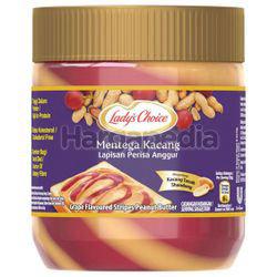 Lady's Choice Grape Flavoured Stripes Peanut Butter 350gm
