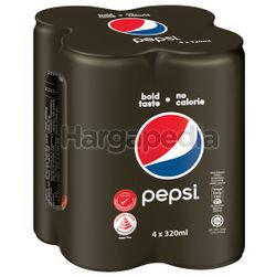 Pepsi Black 4x320ml