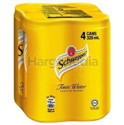 Schweppes Tonic Water 4x320ml
