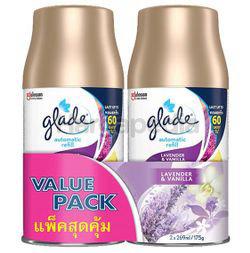Glade Automatic Spray Refill Lavender & Vanilla 2x175gm