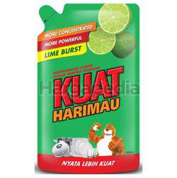 Kuat Harimau Dishwashing Liquid Lime 650ml