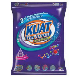Kuat Harimau Detergent Powder Colour 4kg