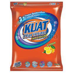Kuat Harimau Detergent Powder Lemon 4kg