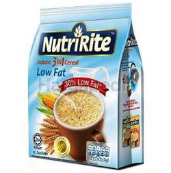 NutriRite 3in1 Cereal Low Fat 15x28gm