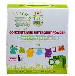 TLC Green Powder Detergent 3kg