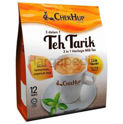 Chek Hup 3in1 Teh Tarik Less Sweet 12x35gm