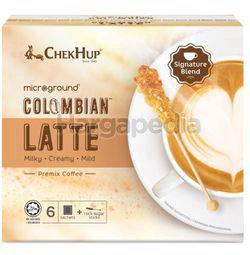 Chek Hup Colombian Latte Coffee 6x28gm