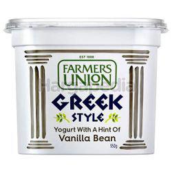 Farmers Union Greek Style Yogurt Vanilla Bean 950gm
