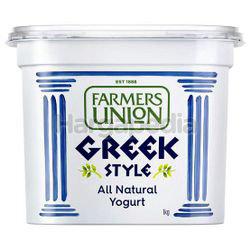 Farmers Union Greek Style Yogurt Natural 1kg