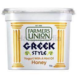 Farmers Union Greek Style Yogurt Honey 950gm