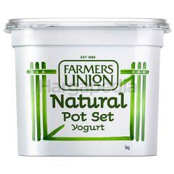 Farmers Union Natural Pot Set Yogurt 1kg