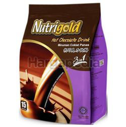 Nutrigold 3in1 Hot Chocolate Drink 15x30gm