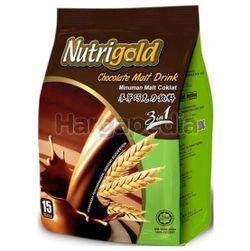 Nutrigold 3in1 Chocolate Malt Drink 15x30gm