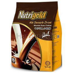 Nutrigold 3in1 Milk Chocolate Drink 15x30gm