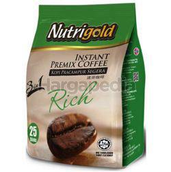 Nutrigold 3in1 Instant Coffee Rich 25x20gm