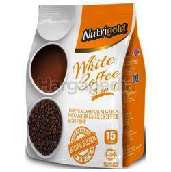Nutrigold 3in1 White Coffee Brown Sugar 15x30gm