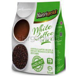 Nutrigold 3in1 White Coffee Hazelnut 15x30gm