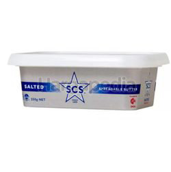 SCS Spreadable Butter Salted 250gm