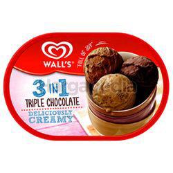 Wall's Ice Cream Triple Chocolate 1.5lit