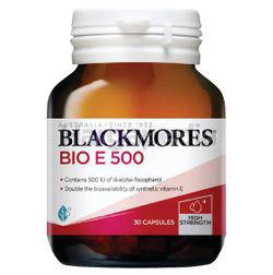 Blackmores Bio E 500 30s