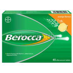 Berocca Effervescent Tablet Orange 45s