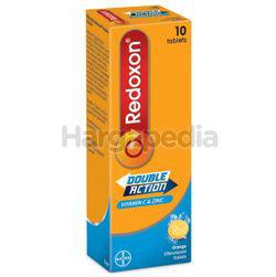 Redoxon Double Action Vitamin C & Zinc Effervescent Orange 10s