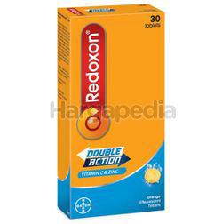 Redoxon Double Action Vitamin C & Zinc Effervescent Orange 30s