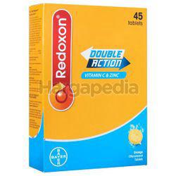 Redoxon Double Action Vitamin C & Zinc Effervescent Orange 45s