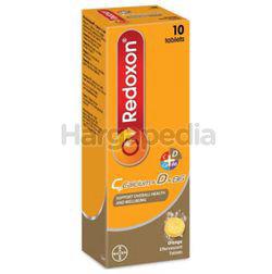 Redoxon C+Calcium+D+B6 Effervescent Orange 10s