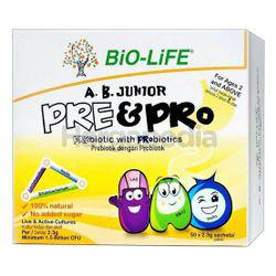 Bio-Life A.B. Junior Pre & Pro 50x2.3gm