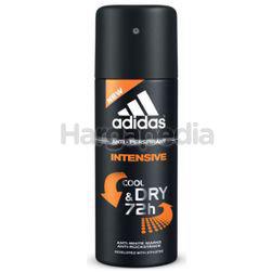 Adidas Men Deodorant Spray Intensive 150ml
