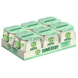Somersby Elderflower Lime Cider Can 24x320ml
