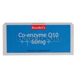 Kordel's Co-Enzyme Q10 60mg 4x30s