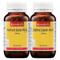 Kordel's Alpha Lipoic Acid 200mg 2x50s