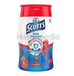 Scott's DHA Gummies Strawberry 60s