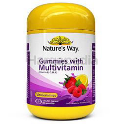 Nature's Way Gummies with Multivitamins 60s
