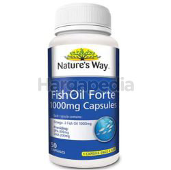 Nature's Way Fish Oil Forte 50s