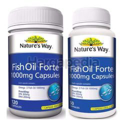 Nature's Way Fish Oil Forte 120s + 50s