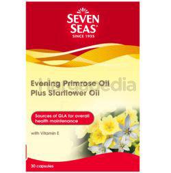 Seven Seas Evening Primrose Oil + Starflower Oil 1000mg 30s