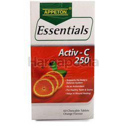 Appeton Essentials Activ-C Orange 250mg 60s