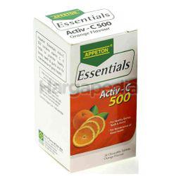 Appeton Essentials Vit C Oren 500mg 30s