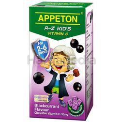 Appeton A-Z Kid's Vitamin C Blackcurrant 100s