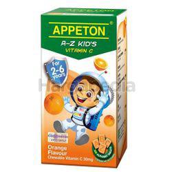 Appeton A-Z Kid's Vitamin C Orange 100s