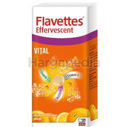 Flavettes Effervescent Vital Orange 30s
